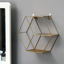 moderne eisen wand regale wand hause dekoration wohnzimmer bad küche organisation bücherregal golden nordisch wandregal 28 5 x 25 5 x 9 5 cm