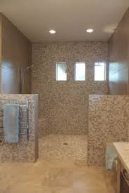 subway tile shower and bathroom tile floor by paint and