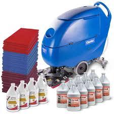 Clarke Floor Scrubber Batteries by Clarke Boost Oscillating Auto Scrubber Floor Stripping Package