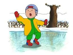 Caillou In The Bathtub by Caillou Learns To Ice Skate Caillou Wiki Fandom Powered By Wikia