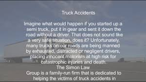 Best Truck Accident Lawyer Attorney Houston Texas - YouTube Houston Injury Attorney To Speak On Dot Regulations Law Offices Driver Errors Truck Accident Lawyers Personal Common Causes For A Car Vs De Lachica Firm Lawyer Johnson Garcia Llp 18 Wheeler Bus Tx Frequently Asked Questions Accidents Planning Holiday Road Trip Watch Out The No Zones Around Bicycle Wheeler Accident Lawyer San Antonio Fort Lauderdale Injury Lawyerhouston Attorney