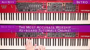 sinking piano easy sinking hillsong free keyboard tutorial