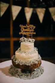Youre My Greatest Adventure Gold Glitter Wedding Cake Topper KS