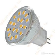 1x mr11 g4 ultra bright 2835 smd led spot light bulb 18 led warm