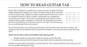 Zero Smashing Pumpkins Tab by How To Read Guitar Tab Dave Lockwood Guitar Studio