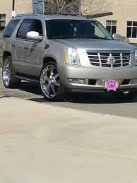 My Cadillac Escalade on 26 inch Giovanna rims Spoiled ♥♡♥