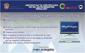 Carta De Antecedentes No Penales Puebla YouTube