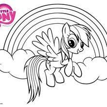 Rainbow Dash Little Pony Coloring Pages Printable And Book To Print For Free Find More Online Kids Adults Of