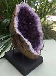 Image Is Loading Display Stand For Gemstone Mineral Specimens Citrine Amethyst