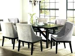 Fabric Covered Dining Chairs Padded Room For