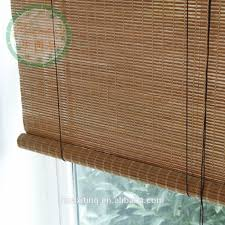 Roll Down Bamboo Shades Outdoor Blinds