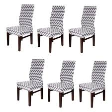 BTSKY Fabric Stretch Dining Room Chair Covers- Set Of 6 Soft Spandex Fit  Banquet Chair Seat Protector Slipcover With Printed Pattern For Home Party  ... Stylish Chair Covers Home Decor Tlc Trading Spaces Discontinued Sewing Pattern Mccalls 0878 Ding Room Wedding Deocrating Uncut Linens Table White Chairs For Target West John Universal Floral Cover Spandex Elastic Fabric For Home Dinner Party Decoration Supplies Aaa Quality Prting Flower Design Stretch Banquet Hotel Computer And 6 Color Diy Faux Fur Cushions A Beautiful Mess Details About 11 Patterns Removable Slipcover Washable With Printed Patternsoft Super Fit Slipcovers Hotelceremonybanquet Vogue 2084 Retro 2001 Sewing Pattern Garden Or Folding One Size Set Of India Rental Where To Polyester Seat Protector 2 Multicolor 20 Creative Ideas With Satin Sash