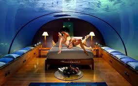 bedroom really cool bedrooms with water medium dark hardwood