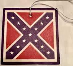Confederate Flag Bedding by Lemon Or Vanilla Scented Confederate Flag Car Air Freshener Dl