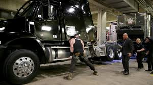 100 Production Truck Braun Strowman Invades A WWE TV Production Truck Raw Jan 15 2018