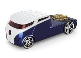 Amazing VW Bus Art in 3D Model
