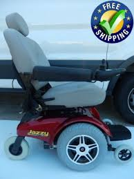 pride mobility jazzy select 14 xl power chair used wheelchairs red