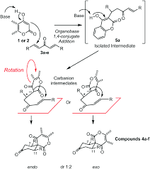 Chair Cyclohexane Point Group by Organobase Catalysed One Pot Exo Selective Synthesis Of Meso