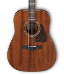 Ibanez AVD9MHOPN Artwood Vintage Thermo Aged Dreadnought Acoustic Guitar