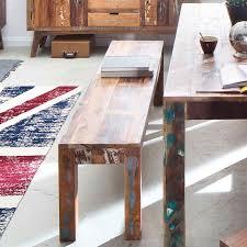 sitzbank malm aus recyceltem massivholz 48 x 160 cm bunt