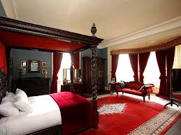 French Country Bedroom Decorating Ideas With Red Color