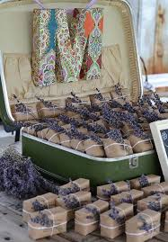 Lavender Soap For Spring Weddings