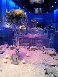 Blue And Purple Wedding Decorations Family Styled Seating Reception Table Cake Cakes Royal