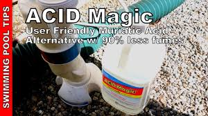 acid magic user friendly muriatic acid alternative with 90 less