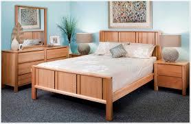 Bedroom Modern Bedroom Furniture Oak Bed Frame Designed With