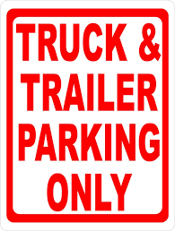 Truck & Trailer Parking Only Sign – Signs By SalaGraphics No Truck Allowed Sign Symbol Illustration Stock Vector 9018077 With Truck Tows Royalty Free Image Images Transport Sign Vehicle Industrial Bigwheel Commercial Van Icon Pick Up Mini King Intertional Exterior Signs N Things Hand Brown Icon At Green Traffic Logging Photo I1018306 Featurepics Parking Prohibition Car Overtaking Vehicle Png Road Can Also Be Used For 12 Happy Easter Vintage 62197eas Craftoutletcom Baby Boy Nursery Decor Fire Baby Wood