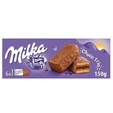 galletas milka choco tutti biscocho rellena de chocolate 150gr