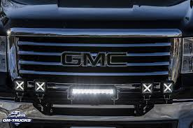 Installed: Sylvania Cube-X & 10-inch Spot Bar LED Lights - GM-Trucks ...