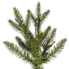 Silver Tip Christmas Tree Artificial by Discount Artificial Christmas Trees