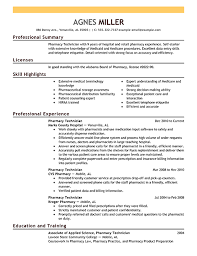 Weve Got Resume Examples That Show Off Everything Pharmacy Technicians Do From Stocking Medications To Helping Customers Check Out Our Sample Resumes