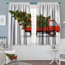 Amazoncom JSTEL William Morris Flower Curtains Drapes Panels