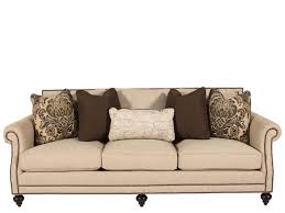 Bernhardt Brae Sectional Sofa by High Profile Nailhead Accented 92 5