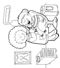 Dentist Coloring Pages Perfect Preschool Dental