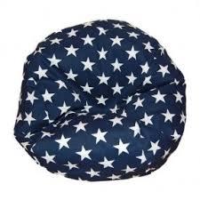 Ahh Products Stars Blue Bean Bag Chair For Dolls