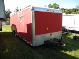 Image 1 1996 Classic Trailers Enclosed Trailer SN 10WPAEN2XTW024155