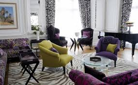 Grey And Purple Living Room Furniture by Inspiring Interior Design And Decor Ideas Demonstrating Latest Trends