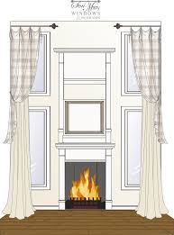 Curtain Ideas For Living Room Pinterest by Best 25 Tall Window Treatments Ideas On Pinterest Long Curtains