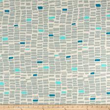Curtain Fabric By The Yard by Art Gallery Canvas Sandbar Coastline Discount Designer Fabric