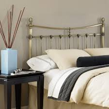 Leggett And Platt Metal Headboards by Fashion Bed Group Leighton King Size Metal Headboard With Rounded