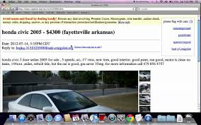 Craigslist Fayetteville Arkansas - Used Cars, Trucks And Vans Under ...