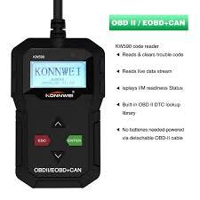 Amazoncom YOKARO KONNWEI KW590 OBD II Scanner Universal OBD 2 Car