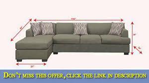 Poundex 3pc Sectional Sofa Set by Poundex Bobkona Hudson Blended Linen 2piece 4seat Reversible
