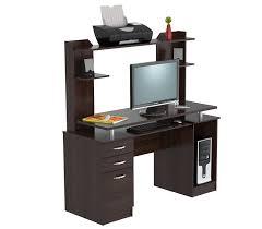 Sauder Palladia Desk With Hutch by Amazon Com Inval America Cc 4301 Computer Workcenter With Hutch