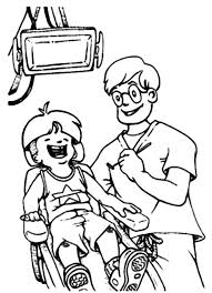 Dentist Coloring Pages For Preschool Printable