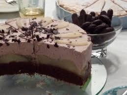 schokoladen birnen torte