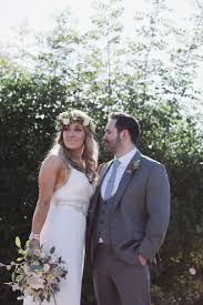 Amy Anna Campbell Dress Gown Bride Bridal Flowing Rustic Quintessentially English Countryside Wedding